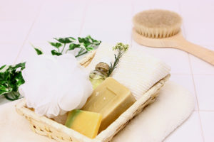 入浴時の石鹸セット