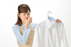 洗濯物のニオイ